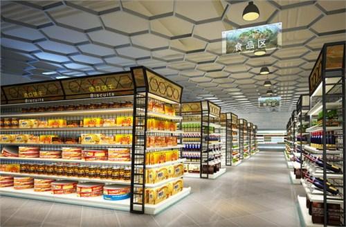 卫辉商场超市设计每平多少钱 新乡市志高建筑装饰供应