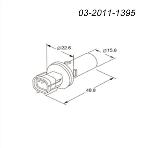 新能源汽车连接器03-2011-1395kum接插件,03-2011-1395