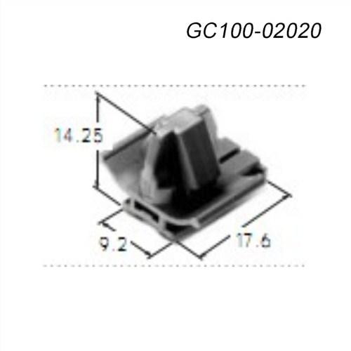 新能源汽车连接器GC100-02020kum接插件,GC100-02020