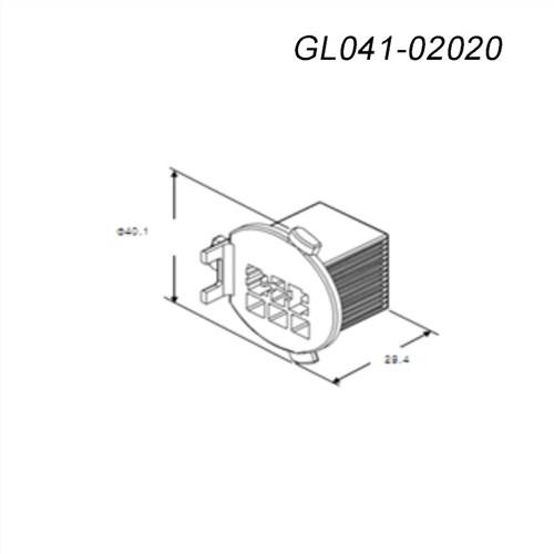 新能源汽车连接器GL041-0202kum接插件,GL041-0202