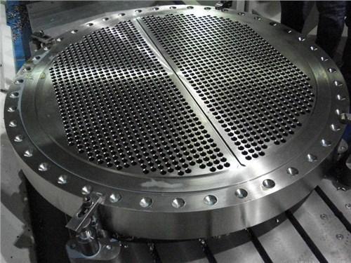 陕西铝合金石化压力容器管板规格尺寸,石化压力容器管板