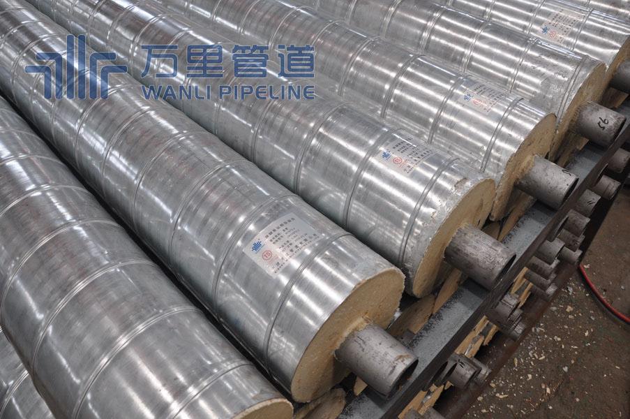 青海預制冷熱水聚氨酯保溫管廠家,聚氨酯保溫管