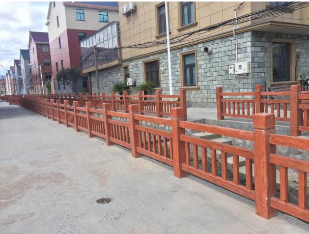 淳安混泥土仿木护栏,仿木护栏
