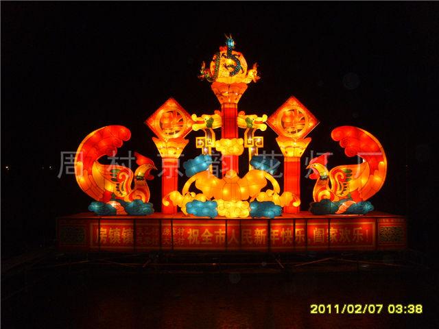滨州光雕彩灯制作厂家「周村京韵花灯供应」