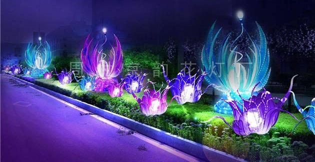 河北光雕花燈來圖定製「周村京韻花燈下载捕鱼达人」