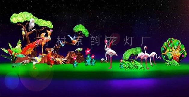 莱芜特色传统花灯安装「周村京韵花灯供应」