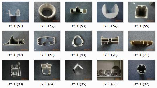 根据实物订制装修铝制品半圆管|哪里加工装饰方管|材料6063铝合金冷拔