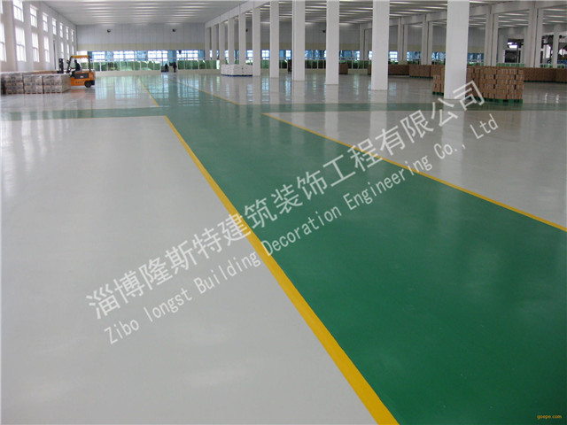 青岛汽修厂自流平工程「隆斯特建筑装饰工程供应」