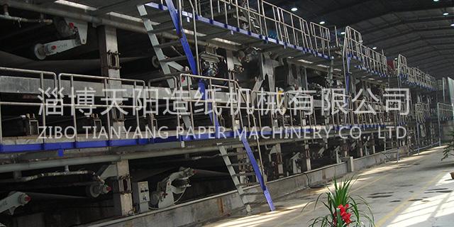 淄博無紡壁紙機機械設備生產廠家 淄博天陽造紙機械供應