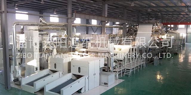 淄博皮革基布无纺布设备机械厂 淄博天阳造纸机械供应