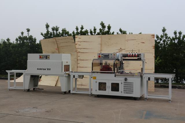 上海滤清网封切机热收缩机 上海固好包装机械供应