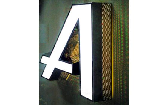 制作发光字标识 服务至上「温州乾成广告供应」