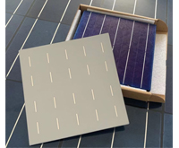 四川双晶硅太阳能电池片色差,太阳能电池片