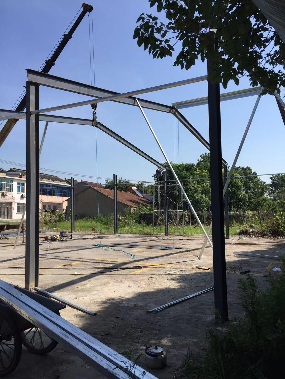 徐州承接钢结构厂家 创新服务「无锡创信装饰工程供应」