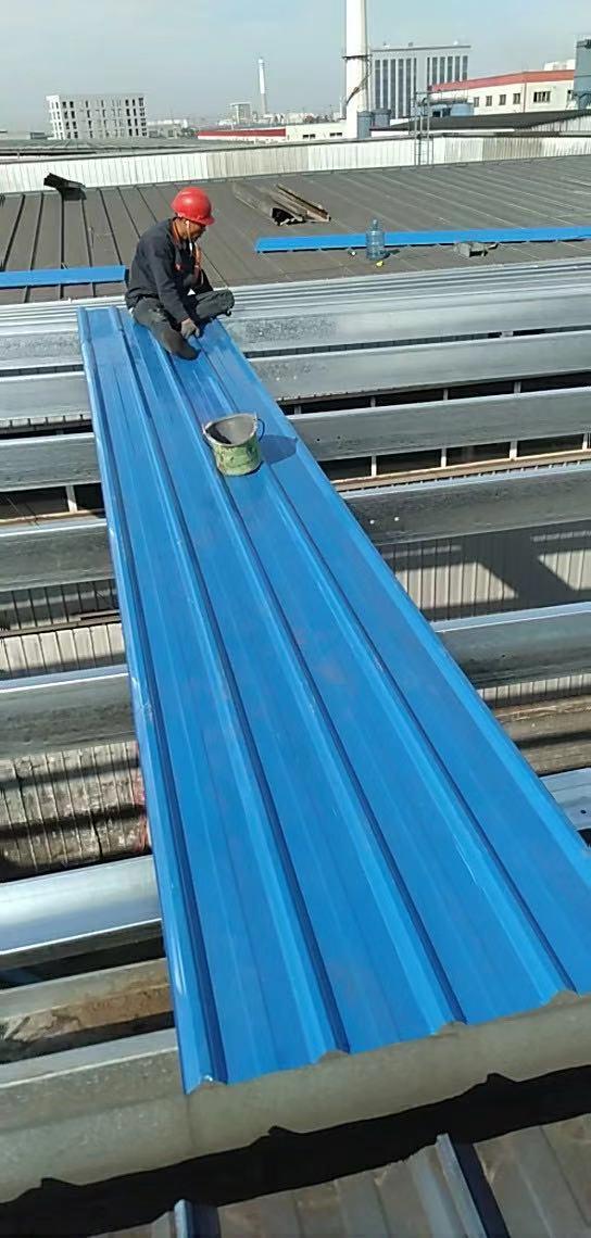 泰州建筑彩钢瓦雨棚 欢迎咨询 无锡创信装饰工程供应