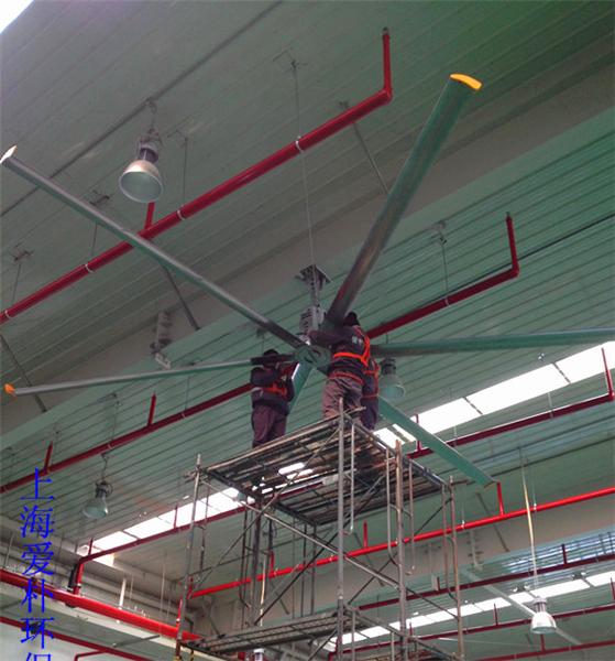 山西節能靜音工業吊扇 誠信為本 上海愛樸環保科技供應