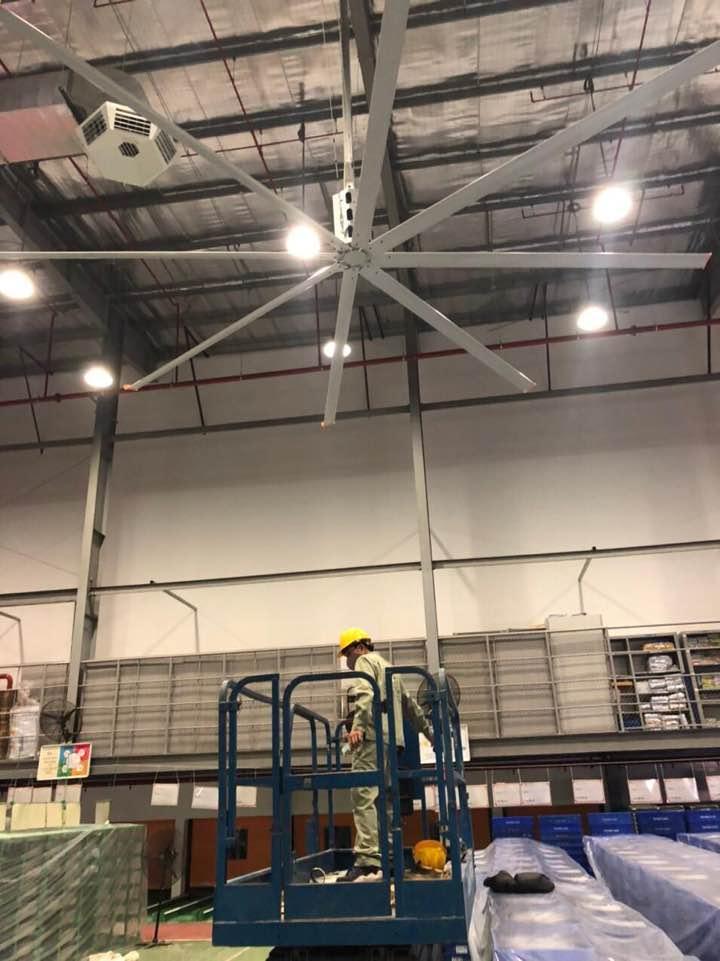 黑龙江节能通风工业风扇厂房专用 诚信为本 上海爱朴环保科技供应