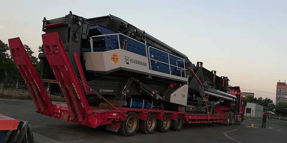 陕西装备全移动式破碎机专业运输服务至上,移动式破碎机专业运输