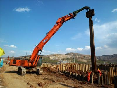 河南液压钢板桩打桩机在线咨询 信息推荐 宁波奥格机械供应