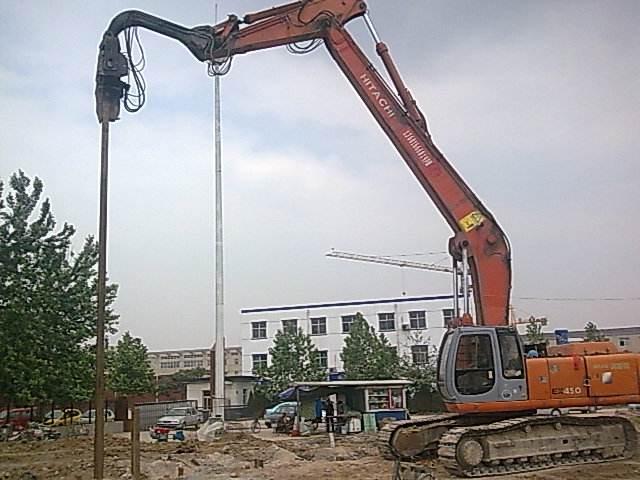 湖南液压钢板桩打桩机的用途和特点 信息推荐 宁波奥格机械供应
