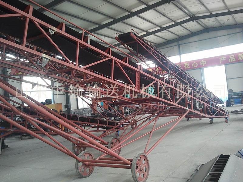 保定皮带式输送机生产厂家 山东中输输送机械供应