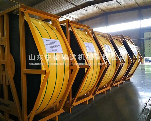 宁夏钢丝绳输送带批发 山东中输输送机械供应