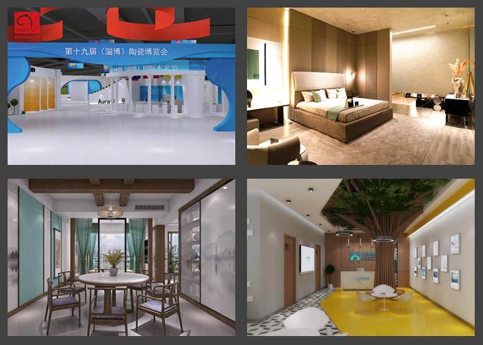 高青智慧展厅规划设计装饰装修 山东鲲象设计供应