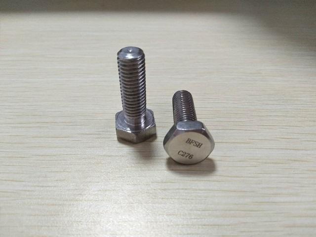 上海优良哈氏合金C276螺栓价格行情 诚信经营 栢尔斯道弗供应