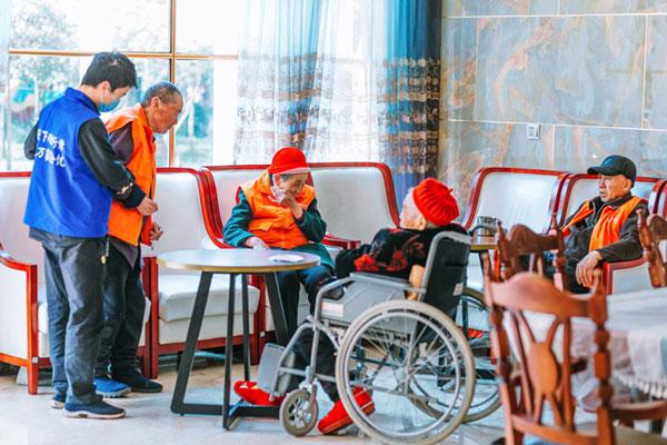 温江传统医养结合型养老院 抱诚守真「成都市郫都区虹满天康养供应」