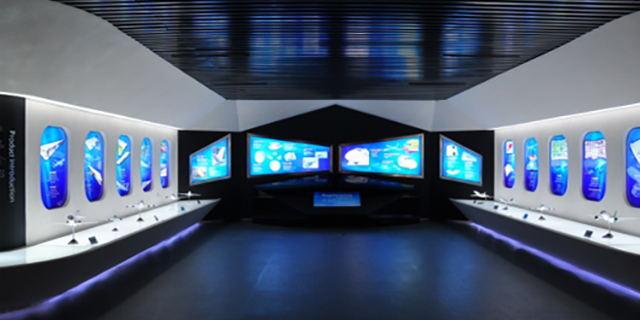 绵阳企业展厅规划,展厅