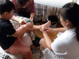 昌平专业的小儿推拿足推加盟机构「北京别姥姥健康管理供应」