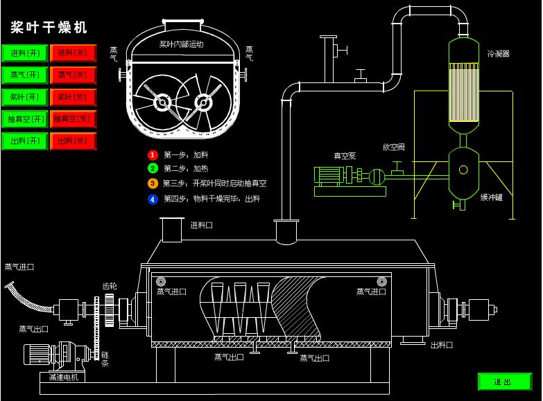 浙江空心浆叶干燥机 和谐共赢 常州耀飞干燥设备供应