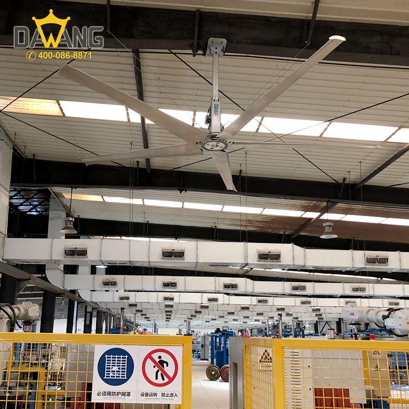 西安物流仓库工业大风扇人员降温,工业大风扇