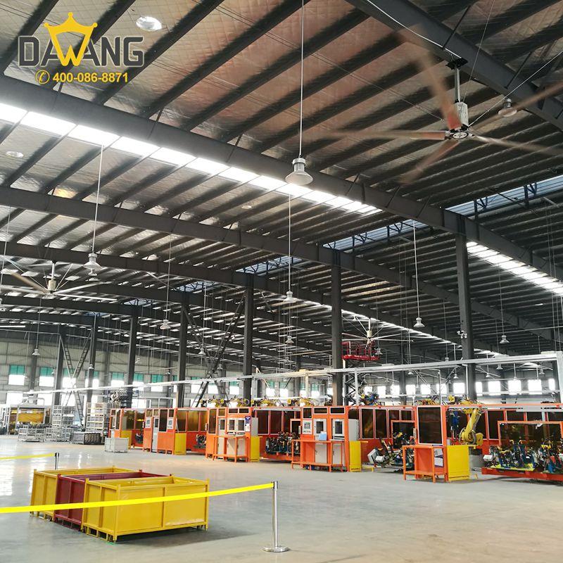 扬州砖瓦厂工业大风扇上门安装 铸造辉煌 苏州大王环境科技供应