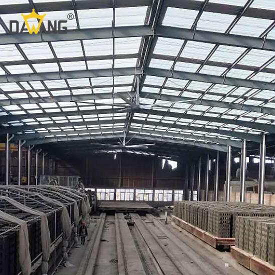 重慶包裝廠工業大風扇除濕防潮 客戶至上 蘇州大王環境科技供應