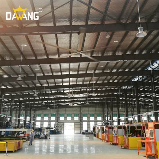 徐州注塑车间大型工业风扇上门安装 和谐共赢 苏州大王环境科技供应