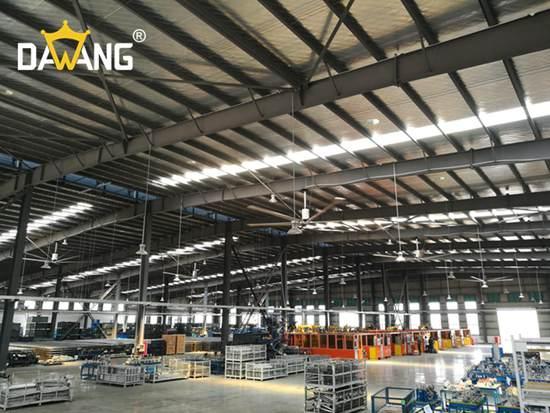 南通成品仓库大型工业风扇上门安装 铸造辉煌 苏州大王环境科技供应