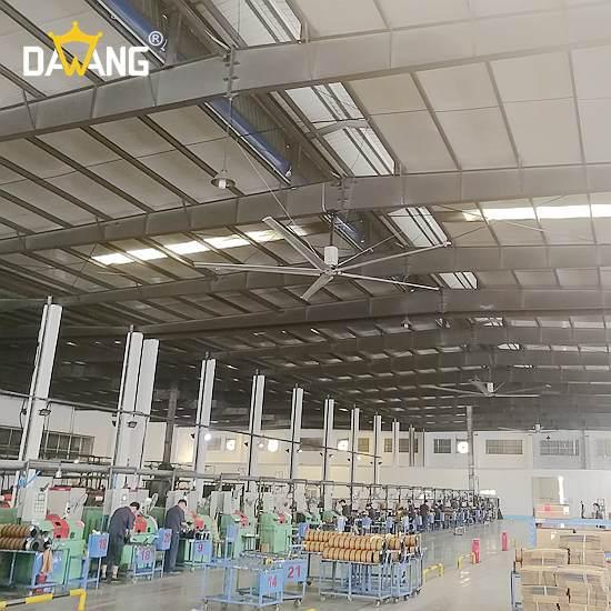 扬州装配车间工业大风扇厂家价格 诚信为本 苏州大王环境科技供应