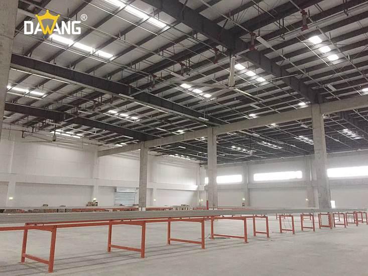 青岛机械厂大型工业风扇包安装 欢迎咨询 苏州大王环境科技供应