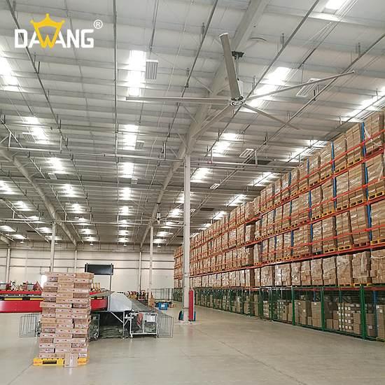海门冲压车间大型工业风扇上门安装 来电咨询 苏州大王环境科技供应