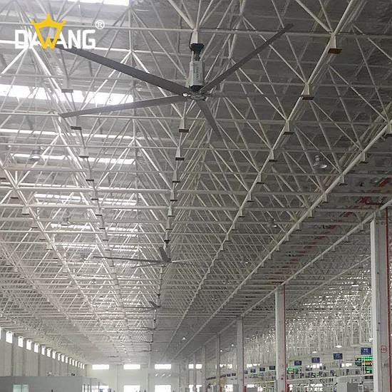 唐山机加工车间工业大风扇通风降温 真诚推荐 苏州大王环境科技供应