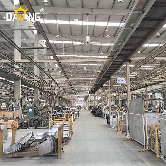 淄博成品仓库工业大风扇通风降温 创新服务 苏州大王环境科技供应