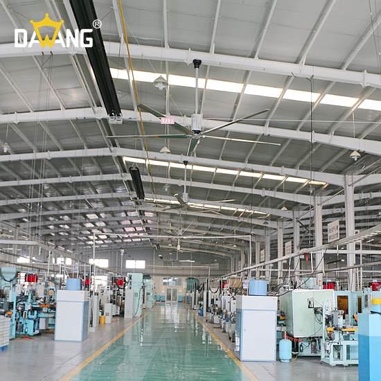 海安焊接车间大型工业风扇厂家直销 诚信互利 苏州大王环境科技供应