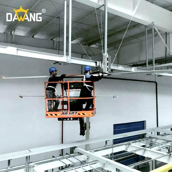 东营汽车零配件大型工业风扇上门安装 诚信为本 苏州大王环境科技供应