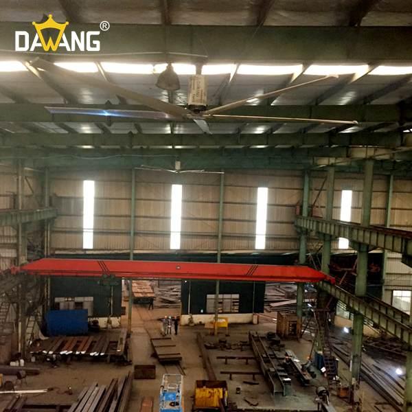滨州装配车间工业大风扇厂家价格 创造辉煌 苏州大王环境科技供应