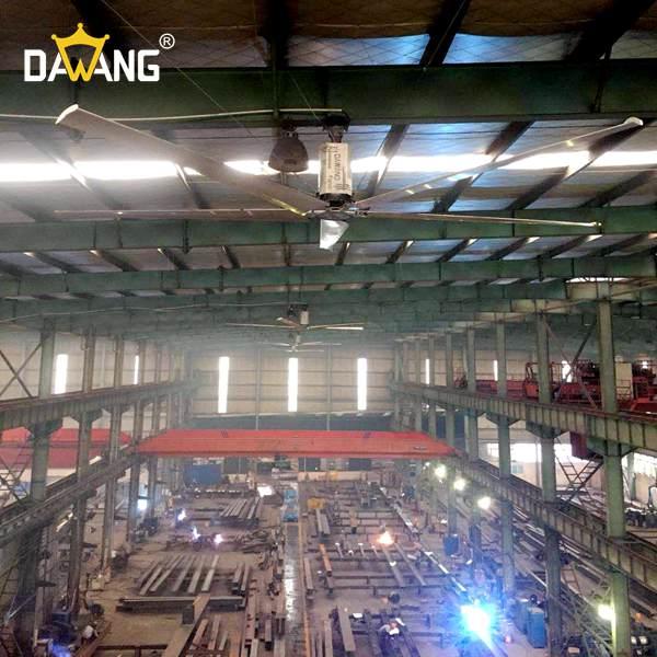 苏州机加工车间工业大风扇 客户至上 苏州大王环境科技供应
