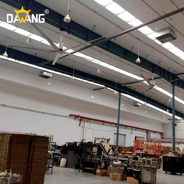 济宁焊接车间大型工业风扇包安装 贴心服务 苏州大王环境科技供应