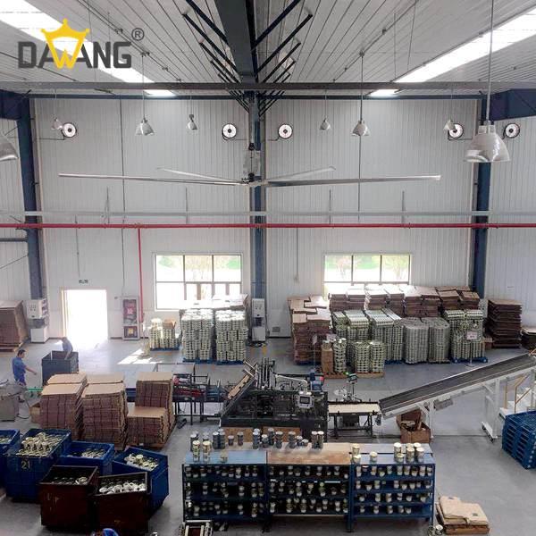 淄博工厂车间工业大风扇厂家直销 值得信赖 苏州大王环境科技供应