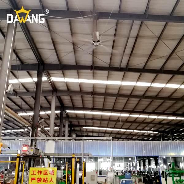 扬州成品仓库大型工业风扇厂家直销 来电咨询 苏州大王环境科技供应