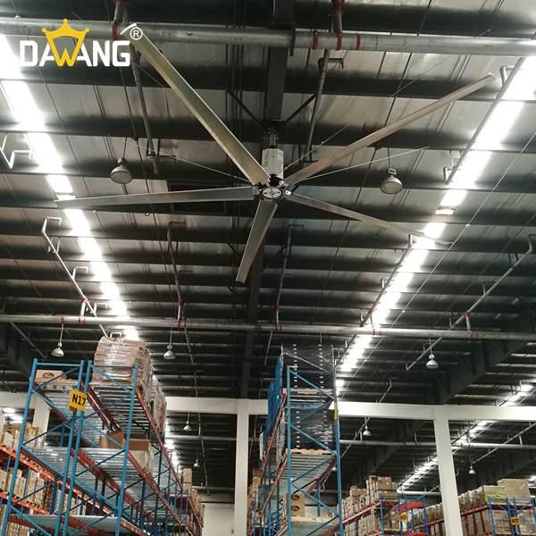 张家港焊接车间大型工业风扇上门安装 创造辉煌 苏州大王环境科技供应